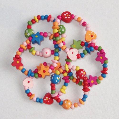 8-x-colorato-in-legno-ragazze-braccialetti-ideale-come-goody-bottino-riempitore-di-borsa-del-partito