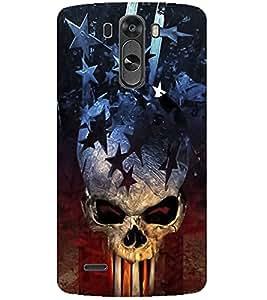 Evaluze danger Printed Back Case Cover for LG G4