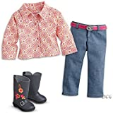 "American Girl Saige - Saige's Parade Outfit for 18"" Dolls - American Girl of 2013"