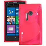 GreatShield Slim Fit Guardian S Series Protective TPU Skin Case for Nokia Lumia 1020 / Nokia EOS (Red)