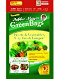 Debbie Meyer Green Bags, Large, 10-Pack