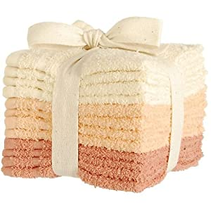 Image: Palm Island Home 12−pk. Washcloth Set