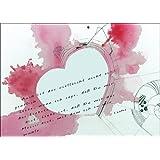 Franz Kafka Liebes Zitat auch schön zum Valentinstag • auch zum direkt Versenden mit ihrem persönlichen Text als Einleger.