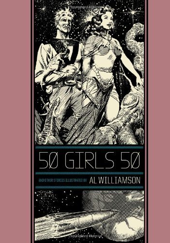 50 Girls 50 And Other Stories (The Ec Comics Library) By Frazetta, Frank, Williamson, Al (2013) Hardcover