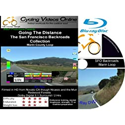 Going the Distance, The San Francisco Backroads Collection (BD) - Part 1 Marin County Loop - A Virtual Ride and Workout