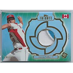 2013 Topps Tribute WBC Prime Patches Green #JT - Jameson Taillon Team Canada - 18 35 by Topps