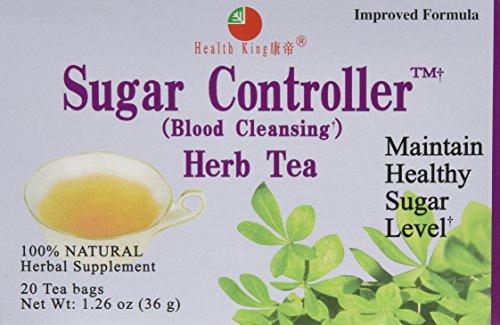 Health King Medicinal Tea, Sugar Controller, 3/20 Bag (Sugar Controller compare prices)