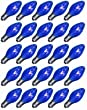 Pack of 25 Transparent Blue C7 Replacement Christmas Lights 5 Watt #651502L