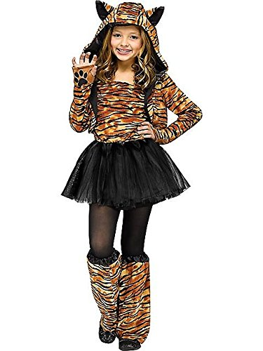 Sweet Tiger Girls Costume