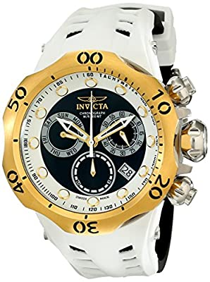Invicta Men's 16991 Venom Analog Display Swiss Quartz Black Watch