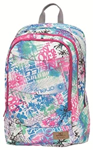 O'Neill Girls Double Back Pack - Multicoloured