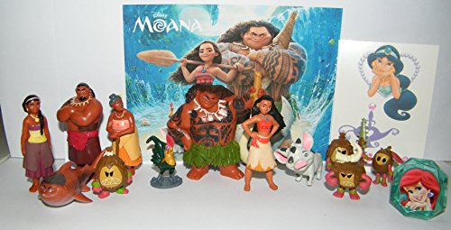 Disney Moana Figure Set of 14