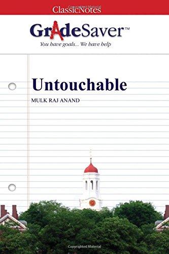 GradeSaver (TM) ClassicNotes: Untouchable
