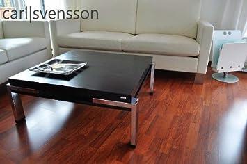 Design Couchtisch Carl Svensson K-222 schwarz Chrom Tisch
