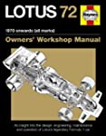 Lotus 72 Manual 1970 Onwards All Mark...