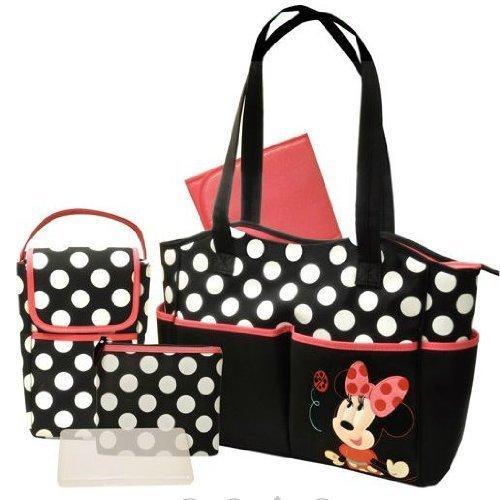 Disney - Minnie 5-in-1 Diaper Bag Set - 1