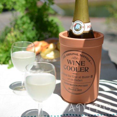 HENRY WATSON'S 素焼のテラコッタ ワインクーラー