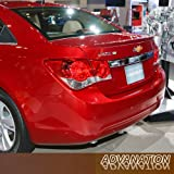 11-15 Chevy Cruze Ducktail Flush Trunk Tail Rear Spoiler Wing Primer Unpainted