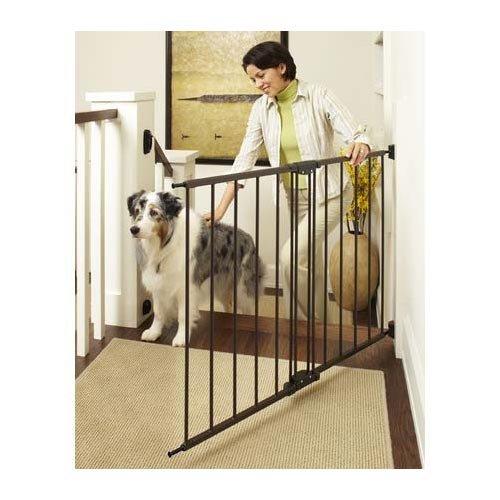 BRN MTL Swing/Lock Gate