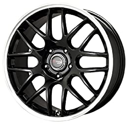 Drag D37 Gloss Black Wheel with Machined Lip (19×8″/5×114.3mm)