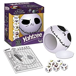 Nightmare Before Christmas Yahtzee!
