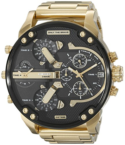 diesel-mens-57mm-chronograph-gold-plated-stainless-steel-glass-watch-dz7333