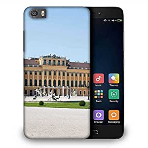 Snoogg Yellow Palace Designer Protective Phone Back Case Cover For Samsung Galaxy J1