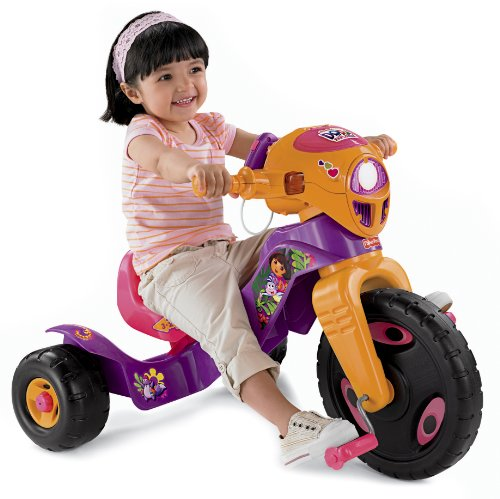 Fisher-Price Dora the Explorer Lights and Sounds Trike (Grow With Me Trike Fisher Price compare prices)
