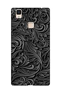 ZAPCASE PRINTED BACK COVER FOR VIVO V3 MAX