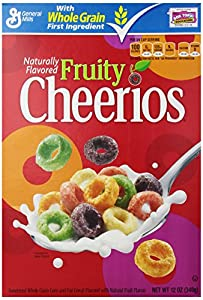Fruity Cheerios Cereal, 12 Ounce (Pack of 6)