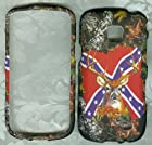 Camo Rebel Flag Deer Samsung Illusion I110 Samsung Skin Cover for Straight Talk Samsung Galaxy Proclaim 720c Sch-s720c Faceplate Rubberized Snap on Hard Phone Cover Case Protector Accessory