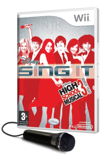 Sing It High School Musical 3 Senior Year inkl. Mikrofon UK Import