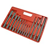 Punch And Chisel Set 14pc (Blow Mould Tray) X Pack Of 4