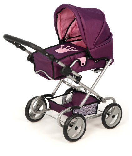 Bayer Design Doll Pram (Plum Crown)