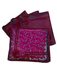 Kuber Industries Non Wooven Saree Cover Set Of 4 Pcs