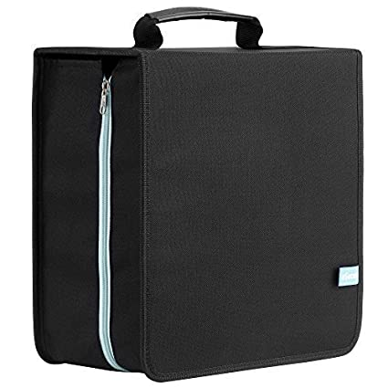 eSecure - Large 416 x CD DVD Disc Storage Wallet Holder Carry Case with Carry Handle - Massive 416 Disc Capacity!