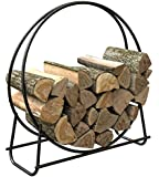 Panacea 15209 40-Inch Tubular Steel Log Hoop