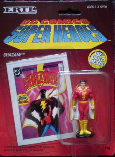 DC Comics Super Heroes Shazam Die Cast Metal Figure