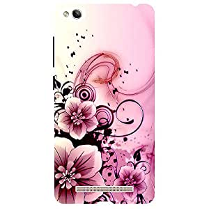 Pink Flowers Design - Mobile Back Case Cover For Xiaomi Redmi 3S