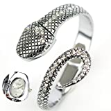 Women s watches ladies luxury Fashion Crystal Silver Snake Steel Bracelet Ladies Women Dress Bangle Watch Women Wrist Watch