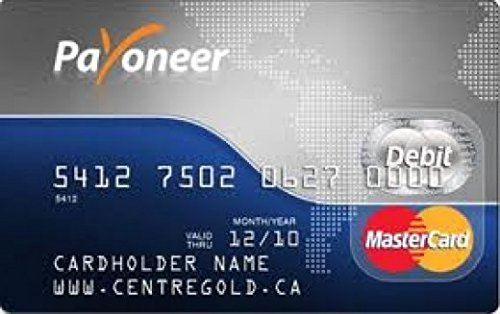 Paypal Verified & Payoneer Master Card (Ebay Gift Card Email Delivery compare prices)