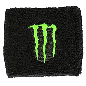 Monster Clutch Reservoir Sock Cover Available in Black/Green and Black/Red, Fits Honda CBR 600rr 1000rr, Suzuki GSXR 600 750 1000, Yamaha R1 R6 R6s, Kawasaki ZX6R ZX9R ZX10R ZX12R