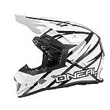 O'neal 2 Series Evo Motocross Enduro MTB Helm Thunderstruck weiß
