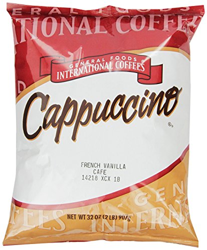 General Foods International Coffees French Vanilla Cappuccino Mix, 32-Ounce Packages (Pack of 6) (French Foods compare prices)