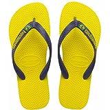 Havaianas - Brasil Logo - Size 31-32 - yellow citrus