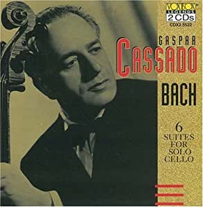 Gaspar Cassado Plays Bach Cello Suites