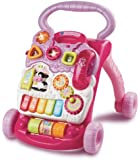 VTech Baby First Steps Baby Walker (Pink)
