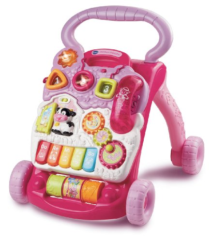 VTech First Steps Baby Walker - Pink.