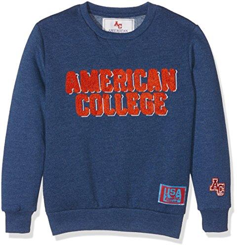 American College JBOOKLET2, Felpa Bambino, Bleu (Patriot Blue), 14 Anni
