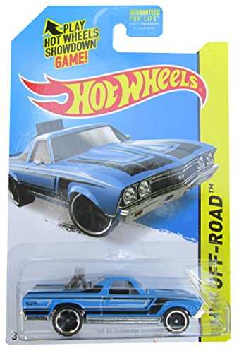 Hot Wheels, 2015 HW Off-Road, '68 El Camino [Blue] Die-Cast Vehicle #122/250 - 1